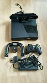 XBOX 360 with 10 games