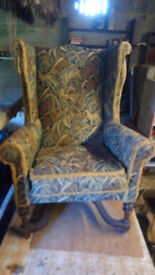 Barn Find Old Armchair.
