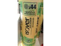 7 rolls of Isover Loft Insulation Spacesaver Roll 150mm
