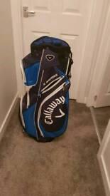 Golf Trolley and Callaway Cart Bag