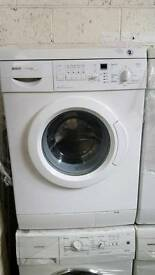 BOSCH 6KG 1200 SPIN WASHING MACHINE WITH 6 MONTHS GUARANTEE