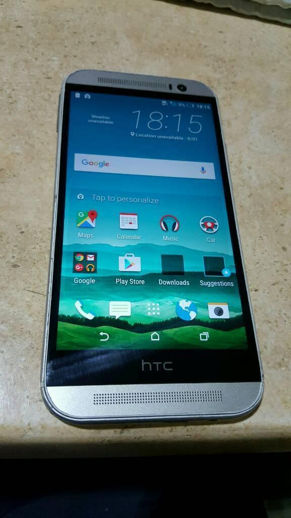 HTC One M8 smartphone. unlocked. big screen latest androidin Barrhead, GlasgowGumtree - selling Htc one M8 latest android smartphone. unlocked. good condition perfect working order
