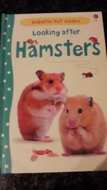 Usbourne- Looking after hamsters book