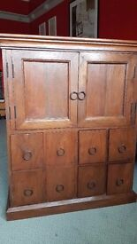 John Lewis real wood TV / Hi-Fi Cabinet with CD storage *VERY GOOD CONDITION*