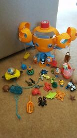 Octopod with Gups and extras