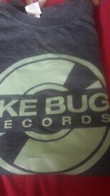 Jake bug grey concert t shirt . Size medium