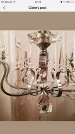 Beautiful Swarovski Glass Contemporary chandelier RRP £800