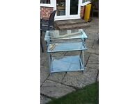 Glass Computer Desk - Very Good Condition