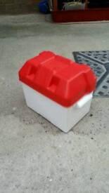 Battery box camping