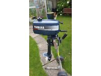 Yamaha 2hp outboard motor, used for sale  Redruth, Cornwall
