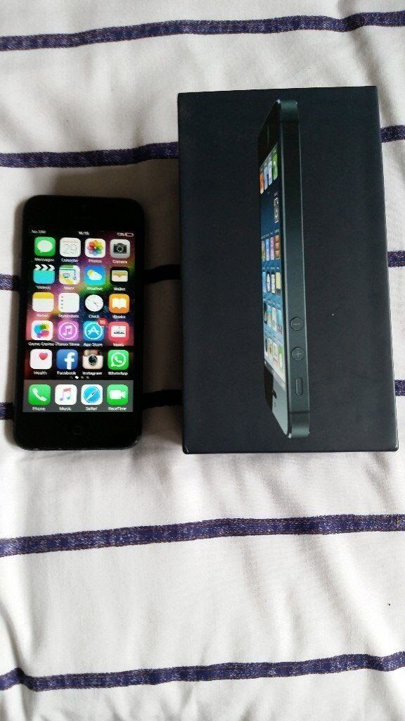 iphone 5 16gb black slatein Sandwell, West MidlandsGumtree - iphone 5 16gb black slate comes with box and charger network EE everything is working with the phone apart from the front camera and a dead pixel which you can see in the second picture hence the price everything else and the main camera works. I...