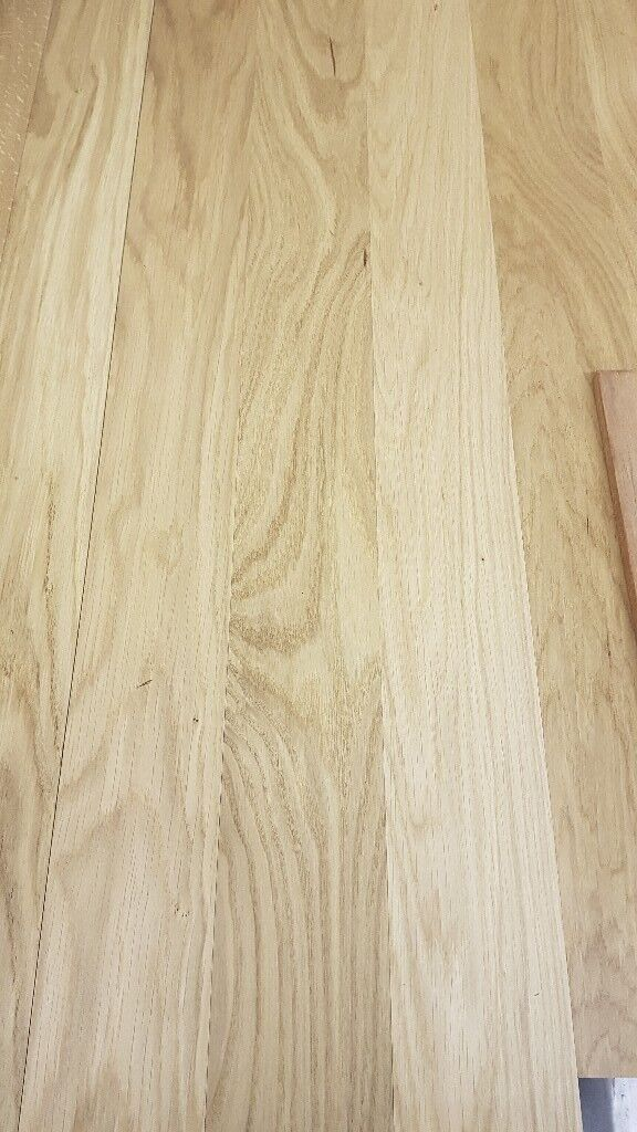 X25 Packs Natural Oak Engineered Real Solid Wood Flooring 90mm