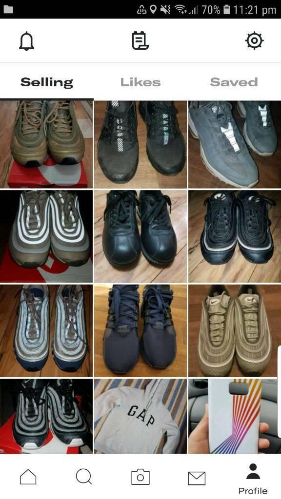 64901217d68578 Mens Nike Air Max 97 Trainers