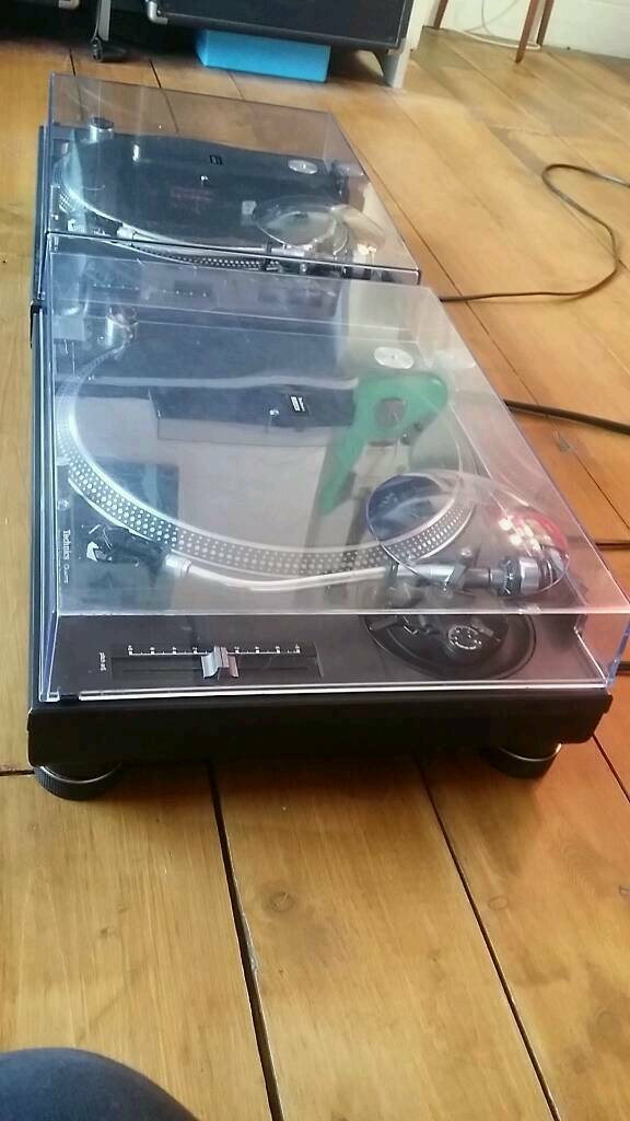 Technics 1210 turntables complete with dust covers, Stanton cartridges and slip matsin Leicester, LeicestershireGumtree - Technics SL 1210 Direct drive turntables in good working order with some scuffs as shown but generally in good used condition. All set up ready to try before you buy. £650 NO OFFERS