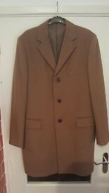 A New Lavorazione Sartoriale size large Wool & Cashmere overcoat