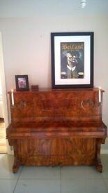 Antique Decorative Piano ( F Rubenstein & Co. Berlin)
