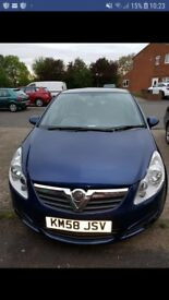 Vauxhall Corsa 1.3 cdi Club £30 road tax a year