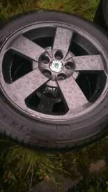 "Vw Audi skoda 16"" alloys 5x100"