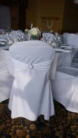 Loose chair covers both plain and damask