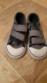 New Next baby boy shoes (size 6)