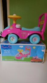 Peppa pig first ride on
