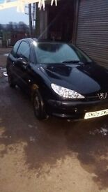 Peugeot 206 for Spares and Repairs