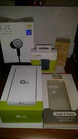 LG G5 HUGE BUNDLE WITH B&O H3 PLAY HEADPHONES CAMPLUS AND MORE