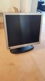 HP 1740 LCD flat panel monitor