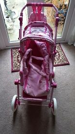 Dollies pram/pushchair