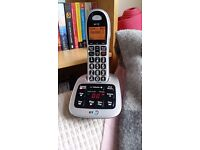 BT 4500 cordless phone with answer machine - excellent condition