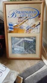 Birmingham city fc mirror and stadium picture.