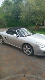 porsche 987 boxster s 60k recent clutch and tyres newer shape but lower tax
