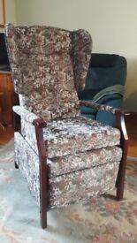 HSL highback recliner.