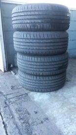 NEWish Maxxis HP5 225 50 17 Tyres