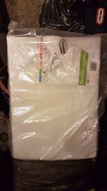 Cot Mattress - New & still sealed (unused)