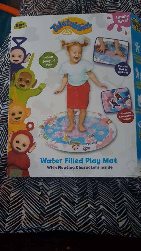 teletubbies water mat