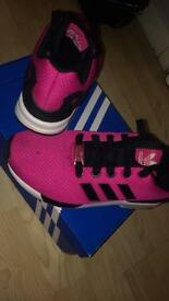 Adidas ZX Flux // UK4 // 8/10 Condtion - Black Mark On Upper // £20
