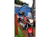 Honda NCX motorcycle
