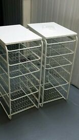 Ikea Algot wire drawers storage baskets local delivery possible