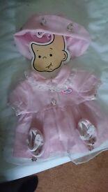 Pink Baby Born Dress