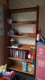 Book shelf in good condition £10 . Must be collected today