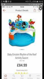 Baby einstein activity play