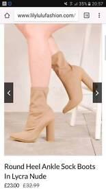 Sock boots size 5 bnib