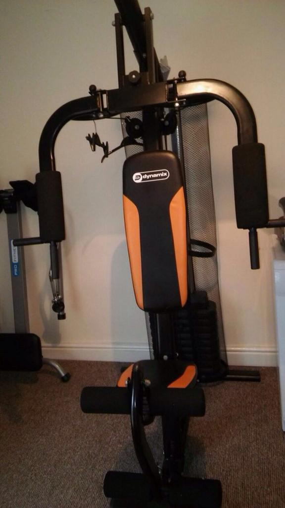 Dynamix multigym with weights 70kgs £60 ONO