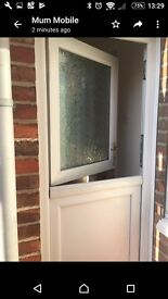 External stable door