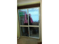 INTERNAL ALUMINIUM-METAL SLIDING DOORS-PATIO DOORS WITH WOOD FRAME