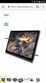 Huion GT-191 8192 Level Pen Display Drawing Monitor with 19.5 Inch 1920x1080 FHD IPS Panel