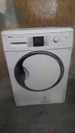 Beko DCU9330W Sensor Driven 9kg Freestanding Condenser Tumble Dryer White