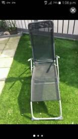 Next reclining sun lounger