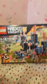 Nexo knights the fortress lego
